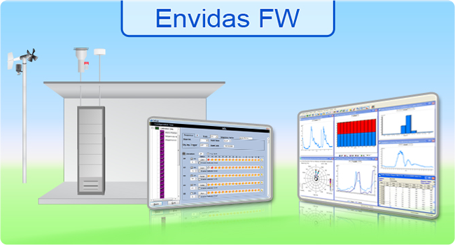 <h3>Envidas For Windows</h3>Envidas for Windows, a trademark of Envitech Ltd, is environmental data acquisition system includes a set of software programs designed to perform data management and air monitoring for AQM/CEM system.